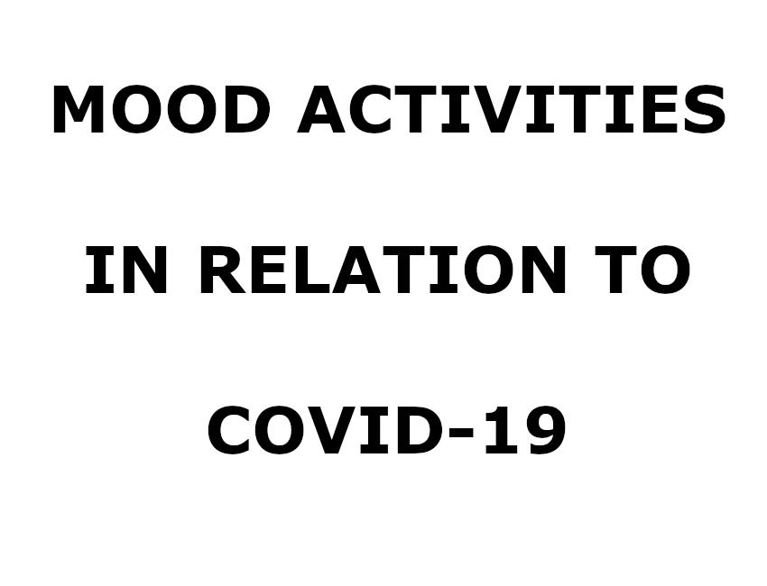 MOOD COVID-19 Activities
